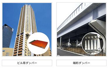 ビル用ダンパー 橋桁ダンパー